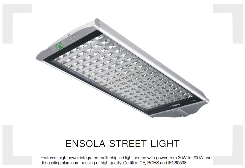 Ensola Street Light LED