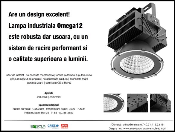 HBL_Omega_Lampa_industriala_LED_Ensola