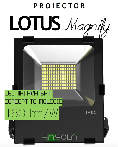 Proiector_Lotus_Magnify_LED_Ensola